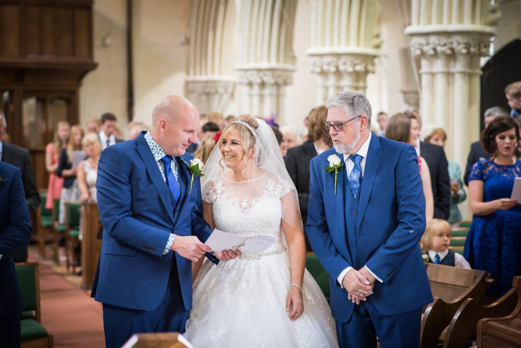 wedding day timings