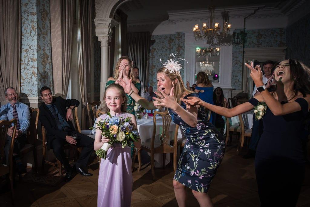 Pendley Manor bouquet throw