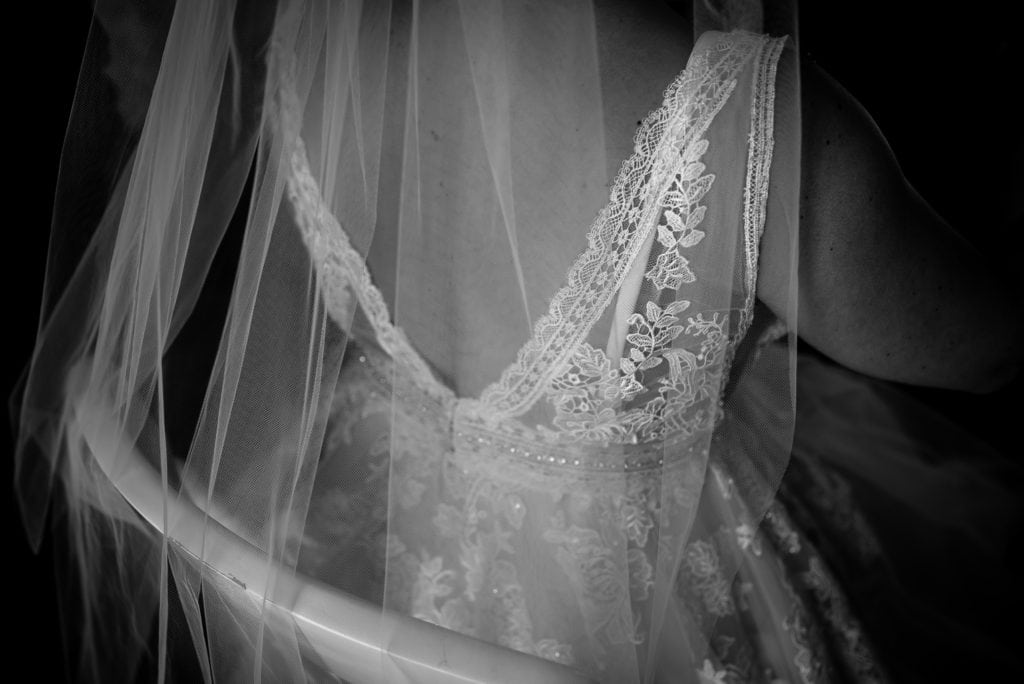 pretty lace from wedding dress