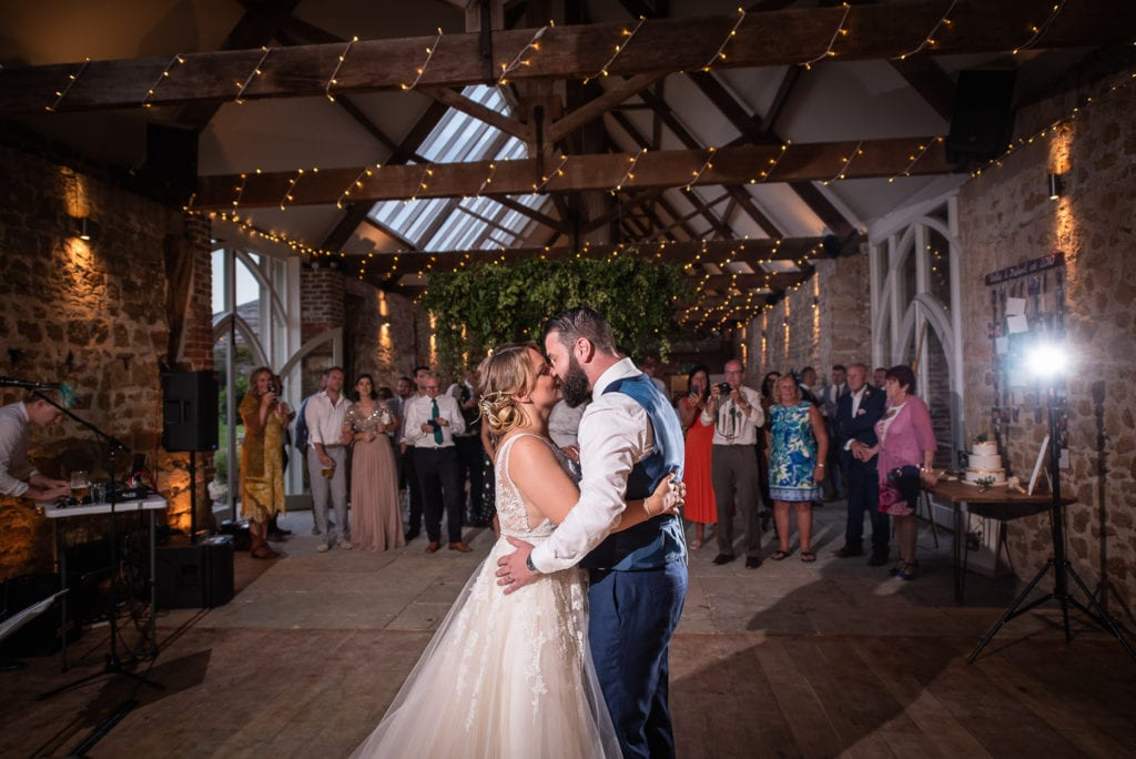 symondsbury estate wedding dorset first dance