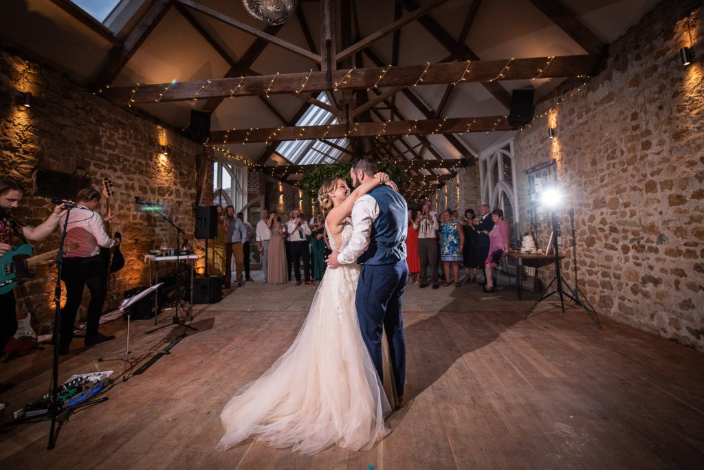 first dance as newly married couple