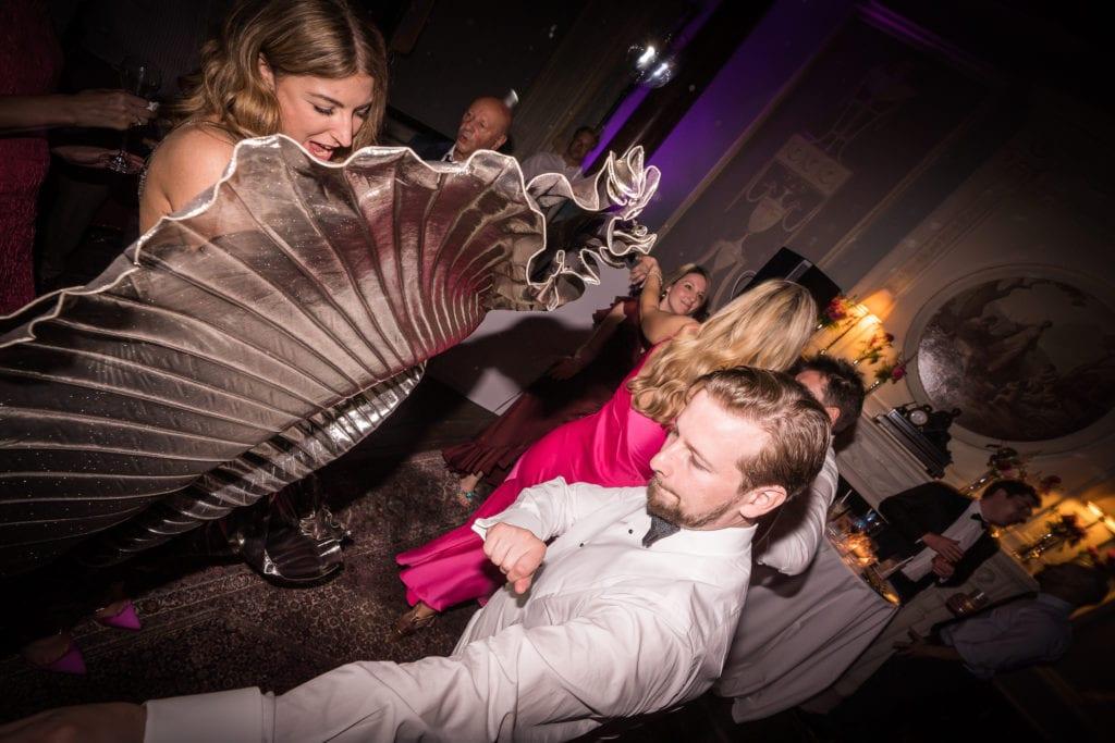 home house wedding reception dancing